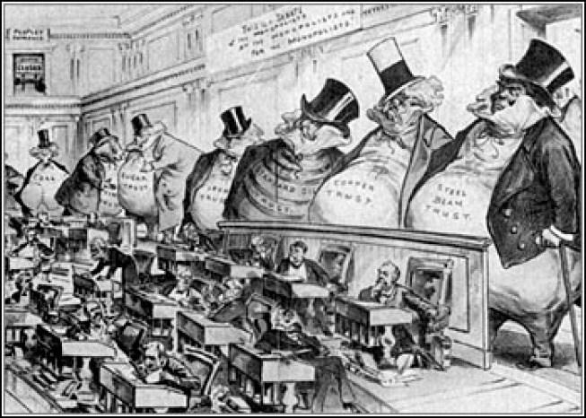 Cartoon of the Sherman Act