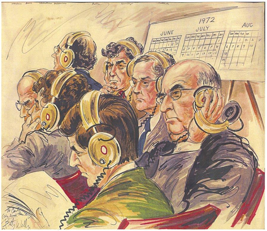 Watergate Sketch