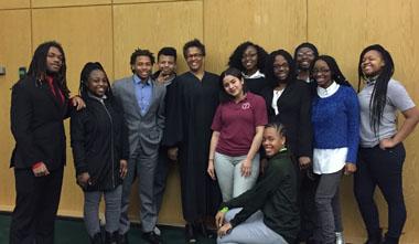 Judge Robinson Mock Court 2017