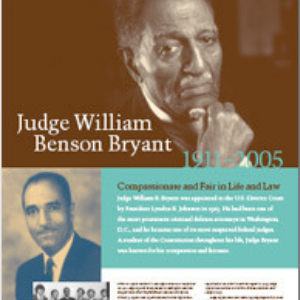 Judge William Benson Bryant