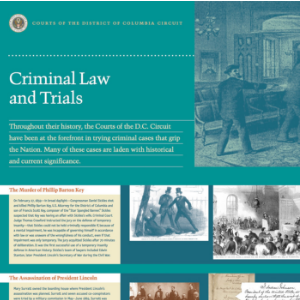 Criminal Law and Trials