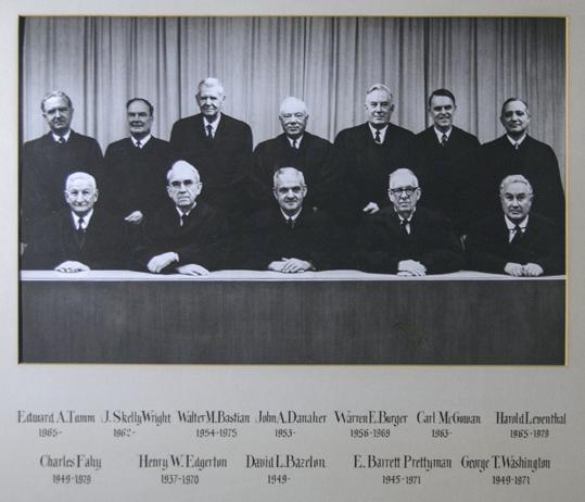 The Bazalon Court 1963