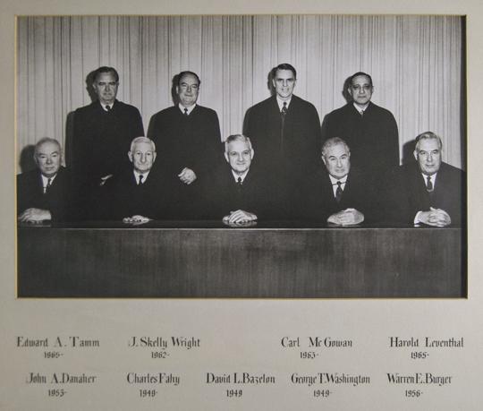 The Bazalon Court 1965